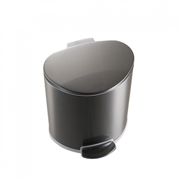Mini Free D Stainless Steel Trash Can 8L
