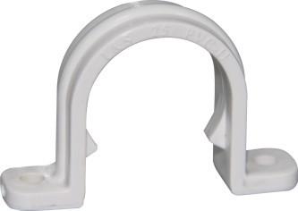 U Style Clamp ,PVC Conduit White