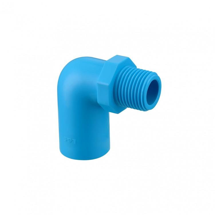 20 mm (3/4in.)×3/4in.TIS PVC-U Water Valve Elbow Socket Blue