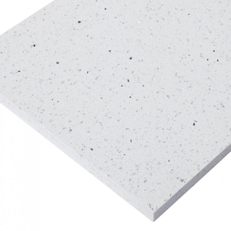 Classical White Quartz Slab, Star White