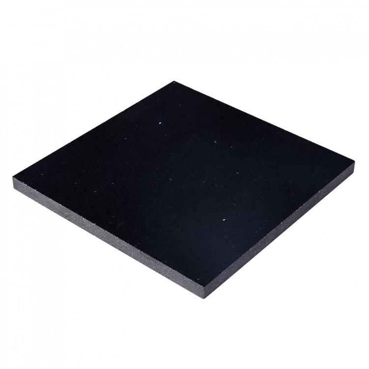 Quartz Slab Star, Black (Small)