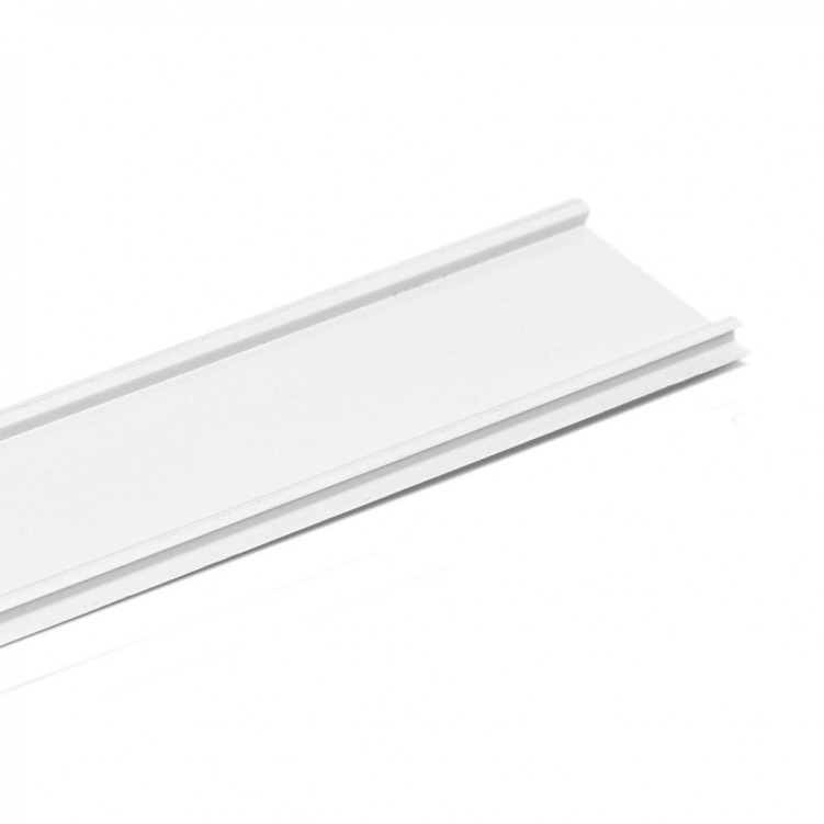 4.11M Long Jamb Cap Cover, White Plastic Profile
