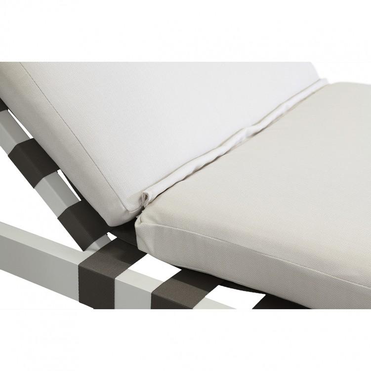 LESSO HOME White Sun Chaise Lounge