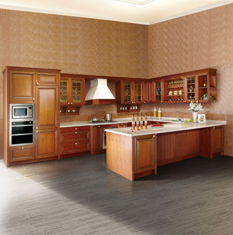 Rta Kitchen Cabinet Manufacturers: Source Now LESSO Wood Impression, Classical RTA Kitchen