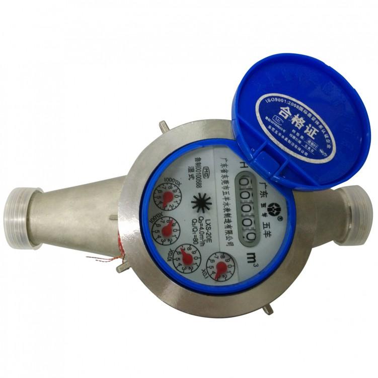 All Stainless Steel Wet Water Meters (GB)