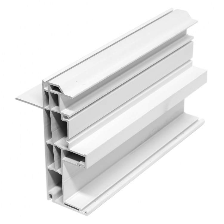 4.26M Long Outter Frame, White Plastic Profile