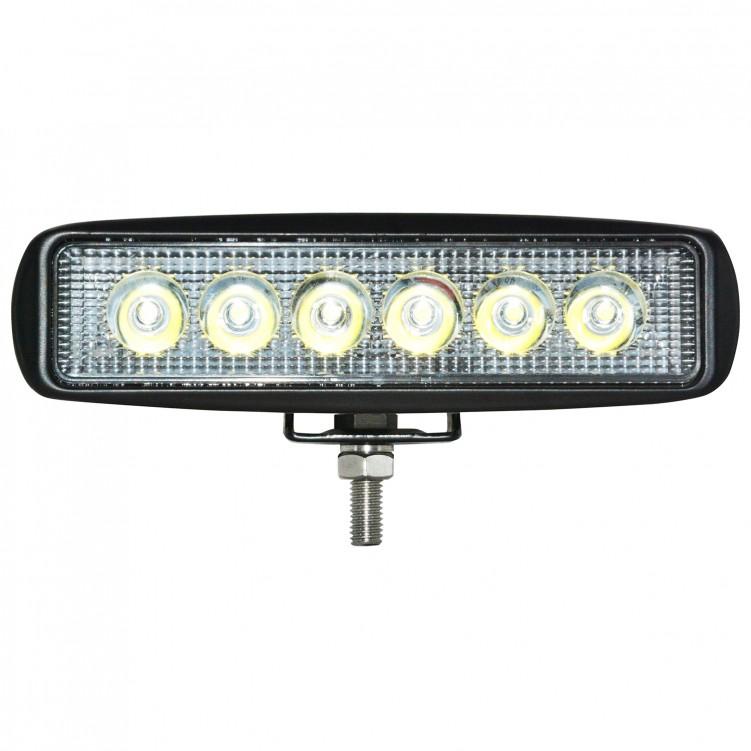 LED 30 Degree Work Light 3W*6pcs