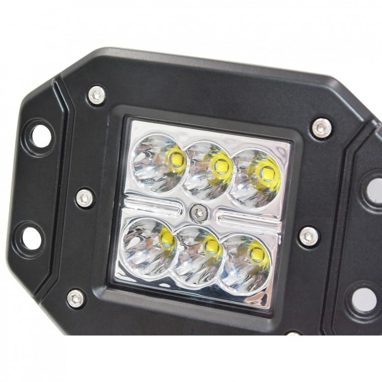 LED 30 Degree Work Light 6PCS*5W