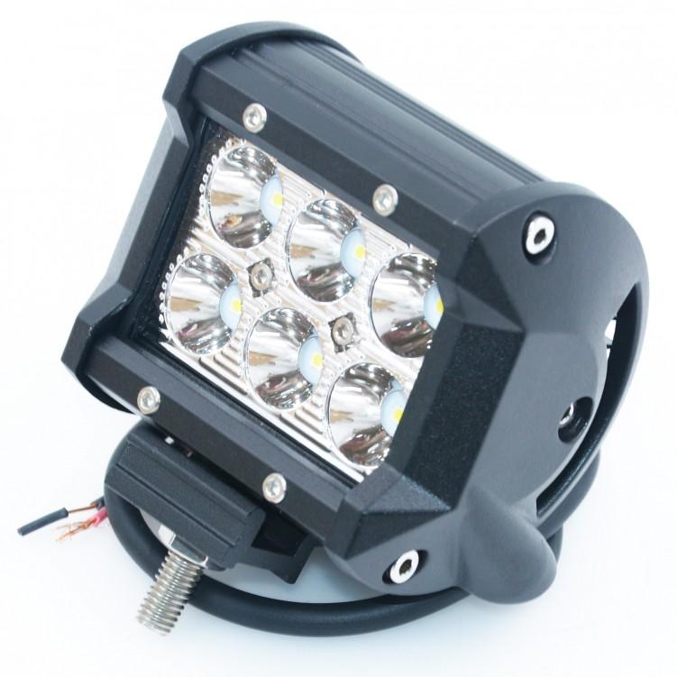 LED 30 Degree Work Light Bar 6pcs*1W