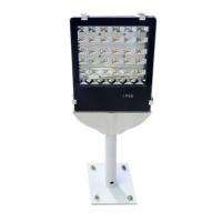 Waterproof LED Flanged Street Lamp