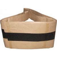 Metal Reinforced PE Spiral Corrugated Shrinkage Belt Black