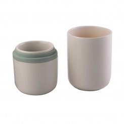 Tong Xin Cup with Two Cups Bone China