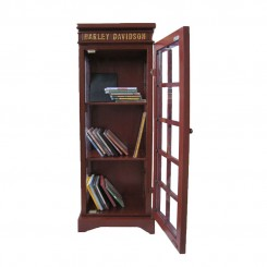 Brown Wooden CD Rack