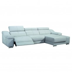 LESSO HOME 3 Seater Power Lift Reclining Sofa, Right Chaise