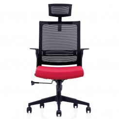 Office Chair, Black Mesh Molded Foam  CH-198A