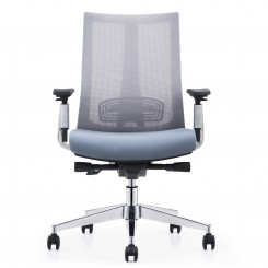 Office Chair, Black Mesh Sponge CH-203B
