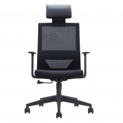 Office Chair, Black Mesh Sponge CH-220A