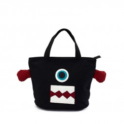 HUAMUMA Lunch Bag One-eyed Mobs  F080
