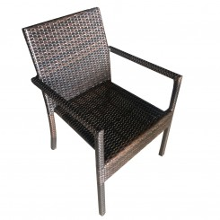 LESSO HOME PE Rattan Dining chair FBL07