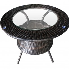 LESSO HOME PE Rattan Dining Coffee Table FBL02