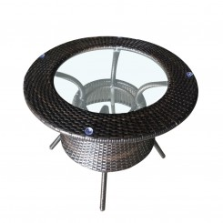 LESSO HOME PE Rattan Dining Coffee Table FBL03