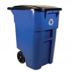 Plastic Trash Cans with Lid and Wheels