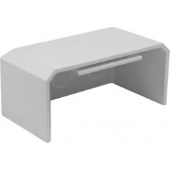 105×50mm Flat Stop End,PVC Multifunctional Trunking