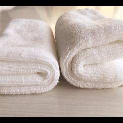 Quick-Dry Square Towel White