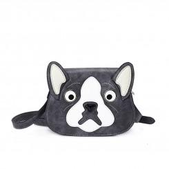 HUAMUMA Small Bag Dark Gray Dog HM16C1184