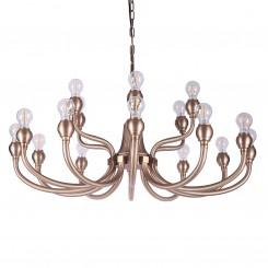 European Style Luxury Gold Ball Pendant Light