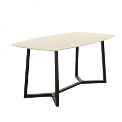 LESSO HOME Temperd Glass Dining Table