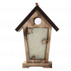 Wooden Cabin Light Box