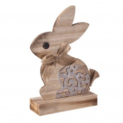 Wooden Rabbit Craft on A Stand