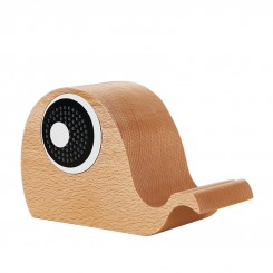Wood Wireless Bluetooth Speaker Whale Shape