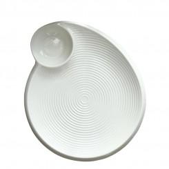 Porcelain Thread Dumplings Plate