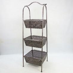 3 Tiers Metal Fruit Basket