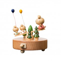 The Seesaw Wooden Music Box