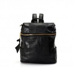 HUAMUMA Simple Backpack RL16A1198 Black