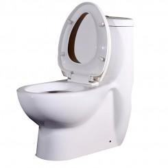 EAGO UPC Watersense Once Piece Toilet Suite
