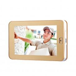Smart WiFi Peephole Doorbell With Infrared Cat Eye ZJA-M220