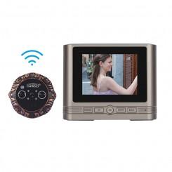 Smart WiFi Peephole Doorbell With Infrared Cat Eye ZJA-MINI one