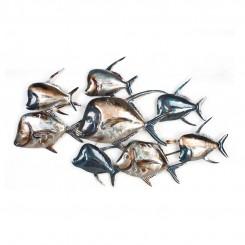 Homeydecor Metal Wall Decor Fish ZL65114