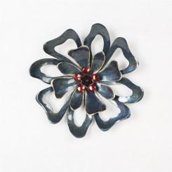 Homeydecor Metal Wall Decor Single Flower ZL65305