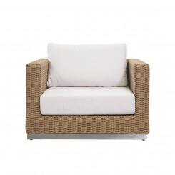 LESSO HOME Outdoor Beige Rattan Sleeper Sofa