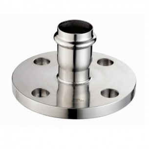 Stainless Steel Flange Adapter (Double Compression Connection)