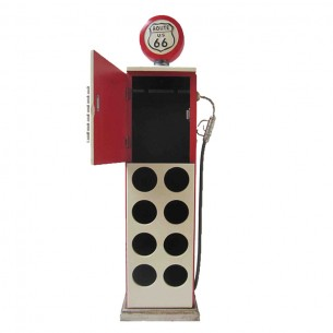 Gas Pump Wine Rack