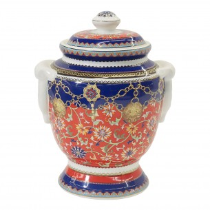 Grand Banquet Handicraft Jar