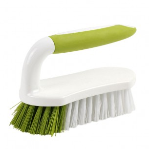 Plastic Long Handle Facial Scrub Brush