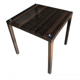 LESSO HOME PE Rattan Square Coffee Table FBL06