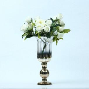 Hurricane Glass Vase/Candle Holder